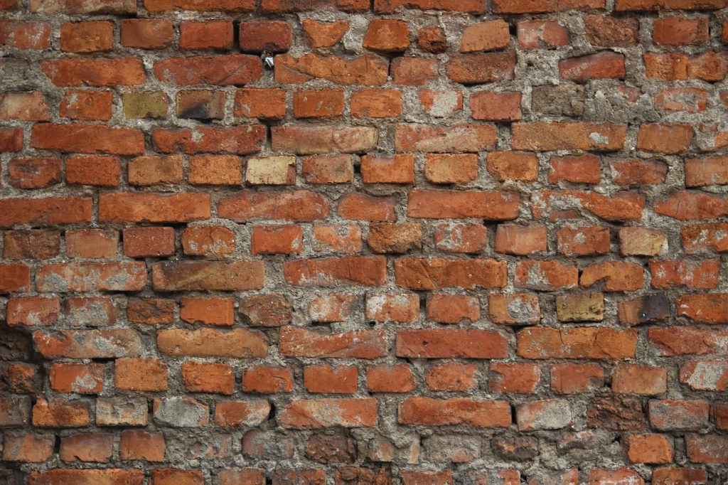 An older wall in need of repointing